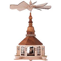 1-stöckige Pyramide Seiffener Kirche - 30 cm