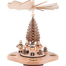 1-stöckige Pyramide Sternsänger und Striezelkinder - 24 cm