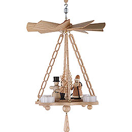1-stöckige Hängepyramide Weihnacht - 30 cm