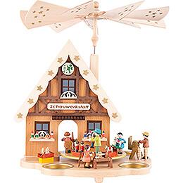 1-stöckige Pyramide Haus Schauwerkstatt - 29 cm