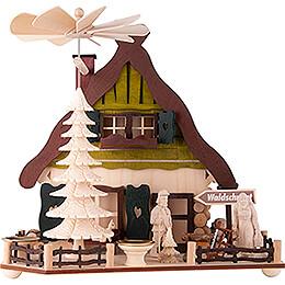 1-stöckige Pyramide Holzmichls Haus - 28 cm