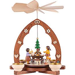 1-stöckige Pyramide Weihnachtsbäckerei - 30 cm