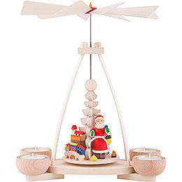 1-stöckige Pyramide Weihnachtsmann - 23 cm