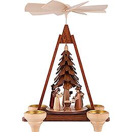 1-stöckige Weihnachtspyramide - Christi Geburt - 29 cm