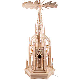 2-Tier Dome Pyramid without Figurines - 110 cm / 43.3 inch