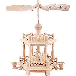 2-Tier Pyramid - Baroque Fence - 38 cm / 15 inch