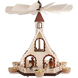 2-Tier Pyramid - Forest Life - 47 cm / 18.5 inch