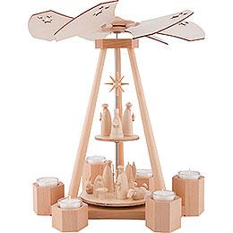 2-Tier Pyramid Nativity - 39 cm / 15.4 inch