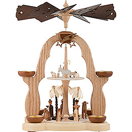 2-Tier Pyramid - Nativity - 40 cm / 16 inch