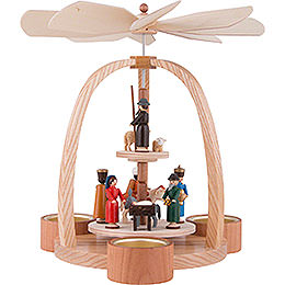 2-Tier Pyramid - Nativity Scene - 24 cm / 9.4 inch