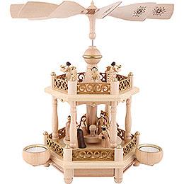 2-stöckige Pyramide Christi Geburt - 35 cm