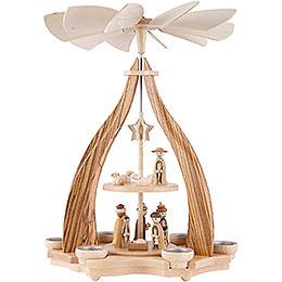 2-stöckige Pyramide Christi Geburt - 47,5cm