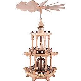 2-stöckige Pyramide Christi Geburt - 51 cm