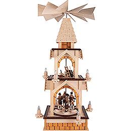 2-stöckige Pyramide Bergbau - 77 cm