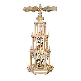 3-Tier Christmas Pyramid - Gothic - 105 cm / 41 inch