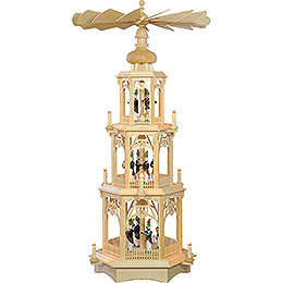 3-Tier Christmas Pyramid - Miners - 105 cm / 41 inch