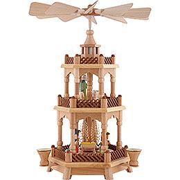 3-Tier Pyramid - Nativity - 42 cm / 16.5 inch