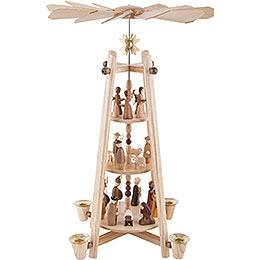 3-Tier Pyramid - Nativity Scene - 44 cm / 16 inch