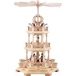 3-Tier Pyramid - The Christmas Story - 44 cm / 17 inch