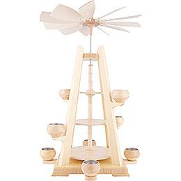 3-Tier Pyramid - without Figurines - 37x34x55 cm / 14.6x13x22 inch