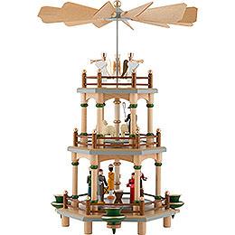 3-stöckige Pyramide Christi Geburt - 35 cm