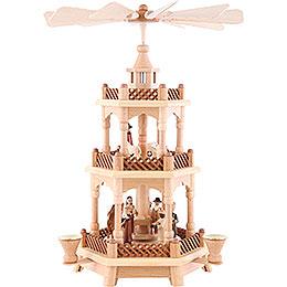 3-stöckige Pyramide Christi Geburt - 42 cm