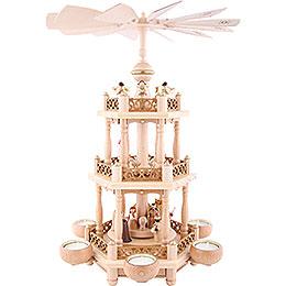 3-stöckige Pyramide Christi Geburt - 46 cm