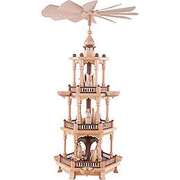 3-stöckige Pyramide Christi Geburt - 67 cm