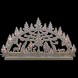 3D Double Arch - Forest Scene - 72x40x5,5 cm / 28x16x2 inch