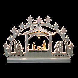 3D Double Arch - Nativity - 42x30x4,5 cm / 16x12x2 inch