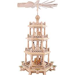 4-Tier Pyramid - Baroque Fence - 57 cm / 22 inch