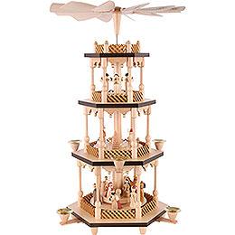 4-Tier Pyramid - Nativity Scene - 54 cm / 21 inch