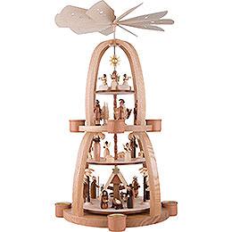 4-Tier Pyramid - Nativity Scene - 68 cm / 26.8 inch