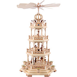 4-Tier Pyramid - The Christmas Story - 55 cm / 22 inch