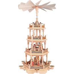 4-stöckige Pyramide Christi Geburt - 58 cm