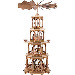 4-stöckige Pyramide Christi Geburt - 94 cm