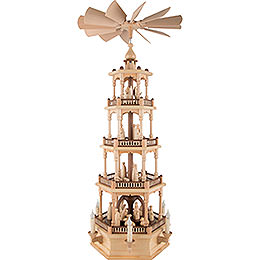 4-stöckige Pyramide Christi Geburt - 86 cm