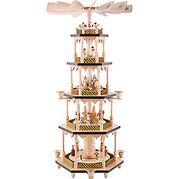 5-stöckige Pyramide Christi Geburt - 70 cm