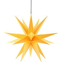 Adventsstern für den Innen-und Aussenbereich gelb inkl. Beleuchtung - 60 cm