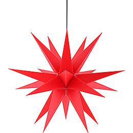Adventsstern für den Innen-und Aussenbereich rot inkl. Beleuchtung - 60 cm