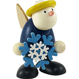 Angel Hans with Snow Flake - 7 cm / 2.8 inch