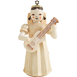 Angel Long Pleaded Skirt with Guitar - Natural - 6,6 cm / 2.6 inch