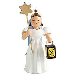 Angel Long Pleated Skirt Lantern / Star, Colored - 6,6 cm / 2.6 inch