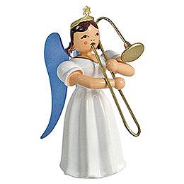 Angel Long Pleated Skirt Sliding Trombone, Colored - 6,6 cm / 2.6 inch