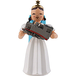 Angel Long Pleated Skirt with Locomotive, Colored - 6,6 cm / 2.6 inch