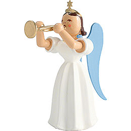 Angel Long Pleated Skirt with Trumpet, Colored - 6,6 cm / 2.6 inch