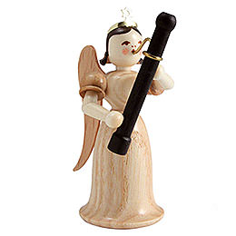Angel Long Skirt with Bassoon, Natural - 6,6 cm / 2.6 inch