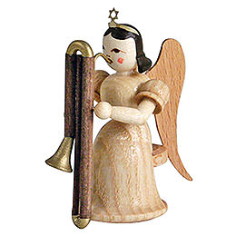 Angel Long Skirt with Contrabassoon, Natural - 6,6 cm / 2.6 inch