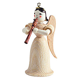 Angel Long Skirt with Flute, Natural - 6,6 cm / 2.6 inch