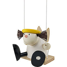 Angel Lotte on Swing - 7 cm / 2.8 inch
